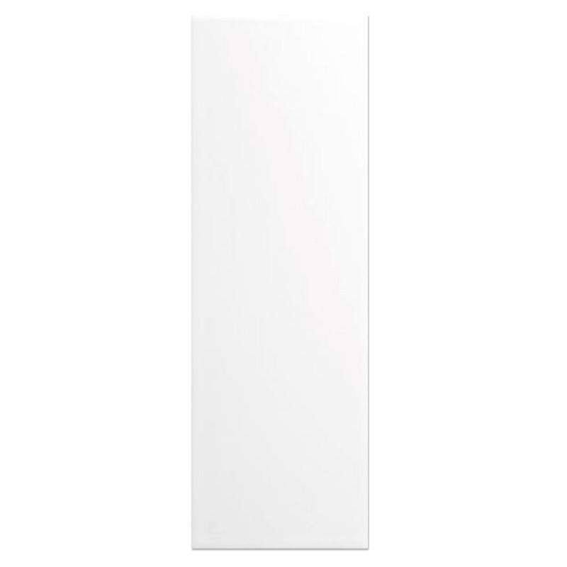 White Matt Slim Subway Wall Tile sample