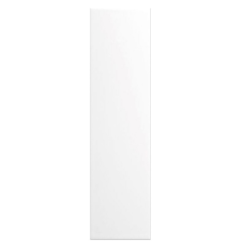White Matt Slim Subway Wall Tile sample