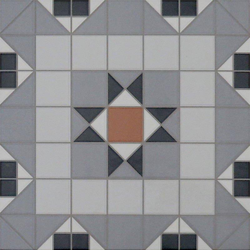 Kendal R10 Decorative Ceramic Tile sample