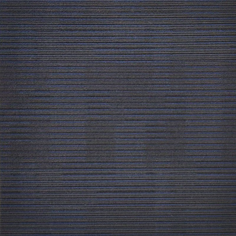 Arizona Blue On Black Carpet Tile sample