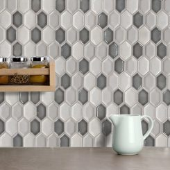 Grey Ceramic Mosaic Tile