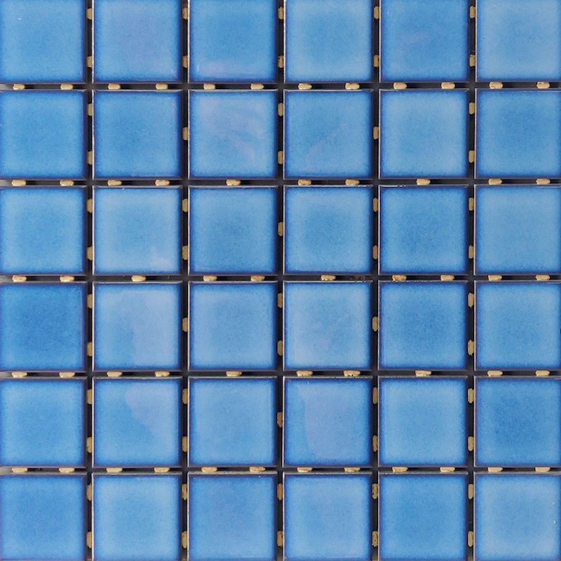 SP4830 Sky Blue Ceramic Mosaic Tile sample