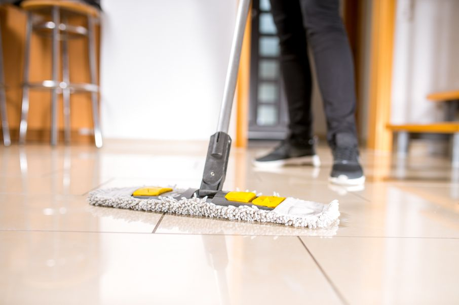 Learn how to clean your ceramic and porcelain tile floors