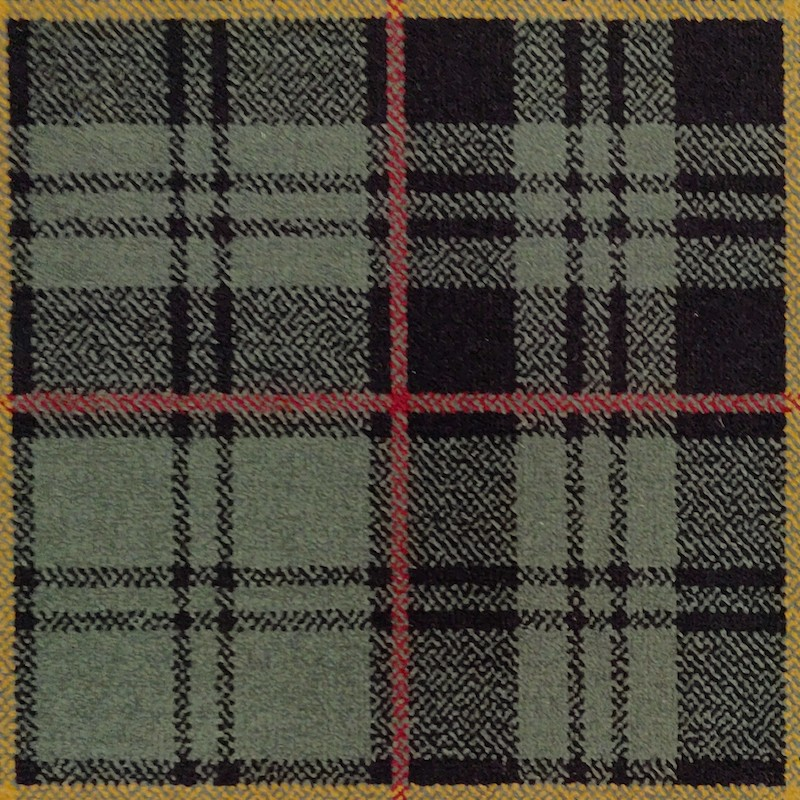 Tartan Green Carpet sample