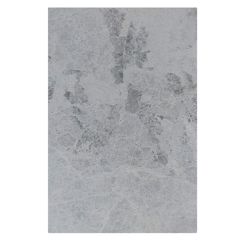 Atlantic Grey French Pattern Tumbled Marble Tile sample