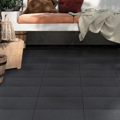 Jun Stone Black Porcelain Tile