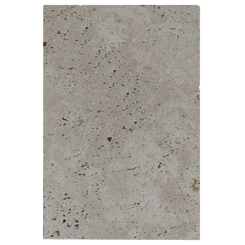 Natural Blend Travertine Tumbled Tile sample