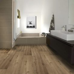 Hybrid Flooring for Bathroom