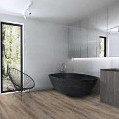Bathroom waterproof flooring