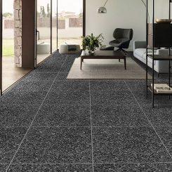 Dark Grey Porcelain Tile