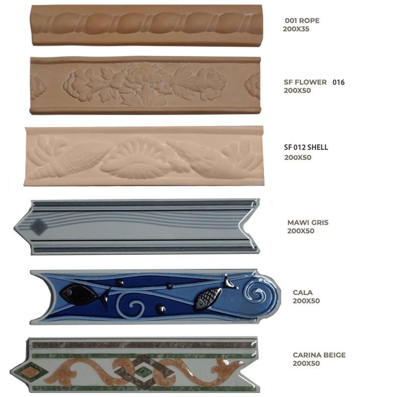 Border  Tile Terracotta & Ceramic sample