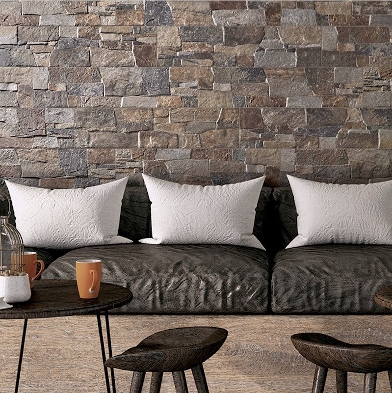 Structured Feature Wall Tiles