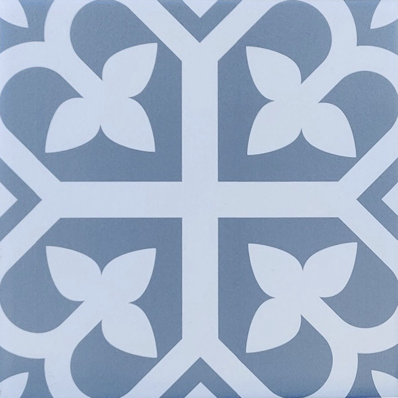 Bloom Baby Blue Feature Tile sample