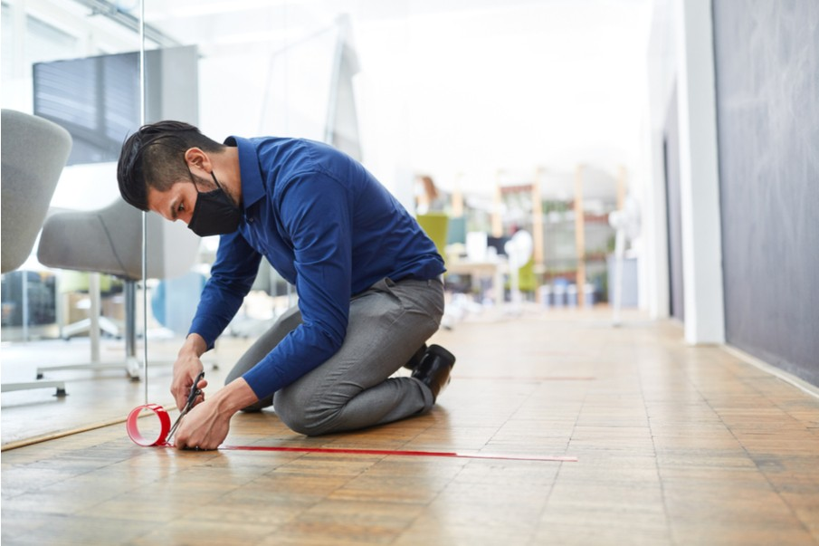 Post-COVID workspace design: How to upgrade your flooring?