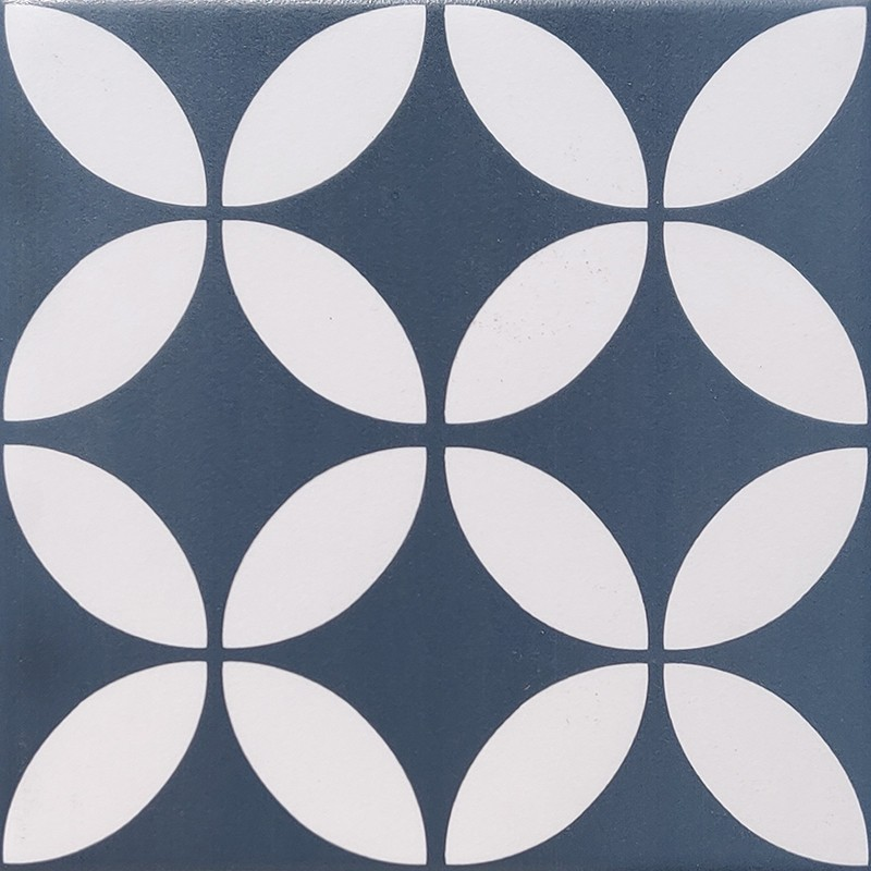 Great Dane Navy Blue Feature Tile sample