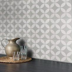 Dane Pale Green Feature Tile