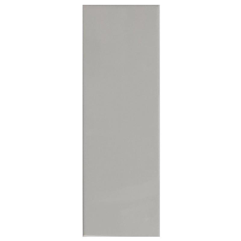 Greige Gloss Subway Wall Tile sample
