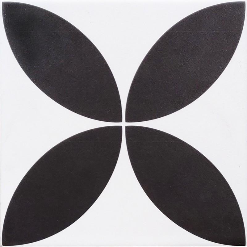 Classic Black White Feature Tile sample
