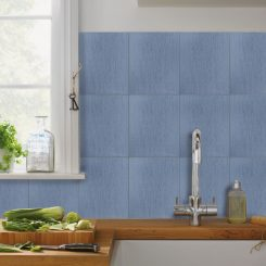 Brushed Azul Ceramic Wall Tile Melbourne