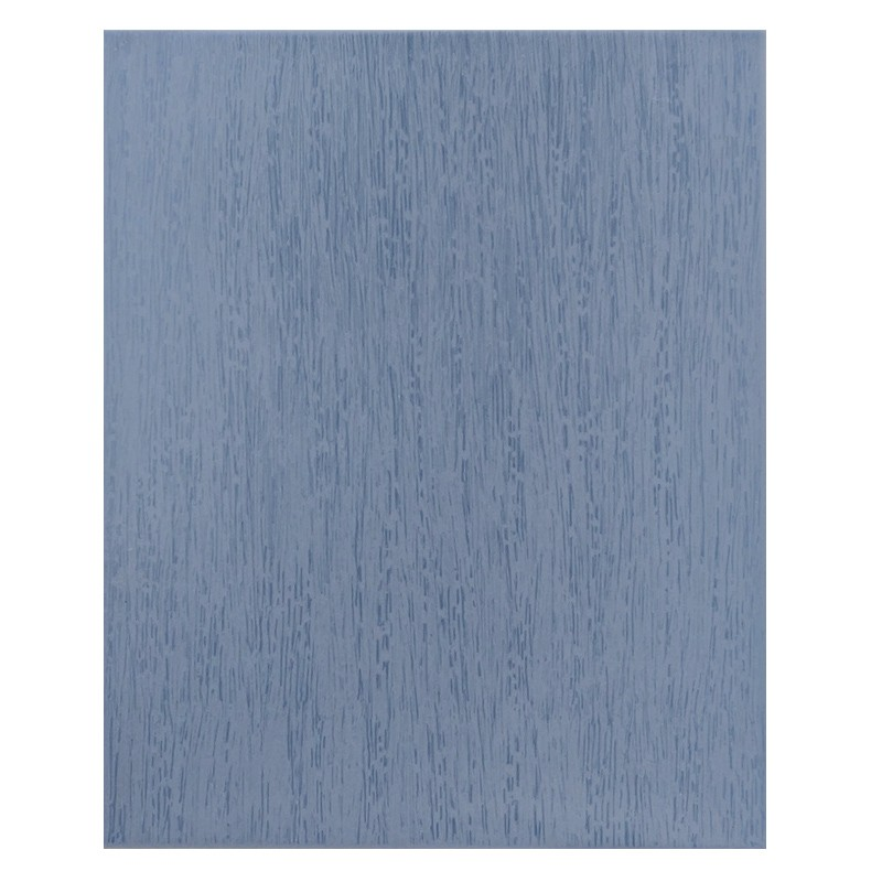 Brushed Azul Ceramic Wall Tile sample