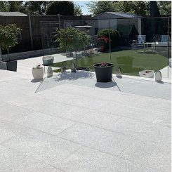 Ice White Granite Paver Tile Melbourne