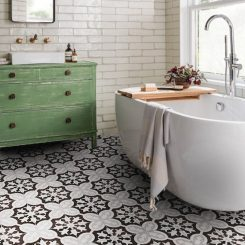 Black & White Feature Tile