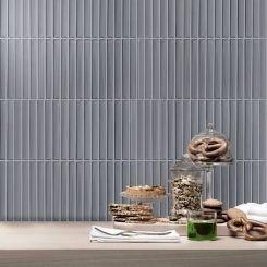 Blue Grey Porcelain Mosaic Wall Tile