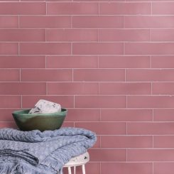 Blush Subway Wall Tile