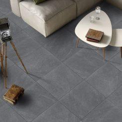 Dark Grey Porcelain Floor Tile
