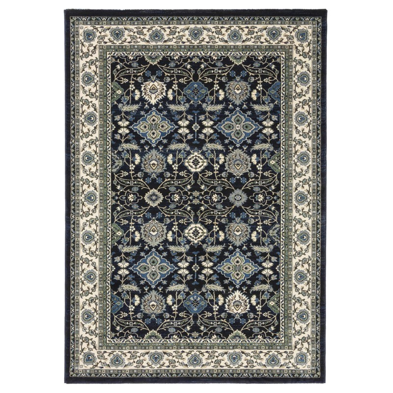 Verona 6256 Navy Carpet sample